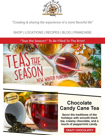 3 New & Exclusive Winter Teas!
