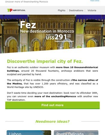 Discover the imperial city of Fez.