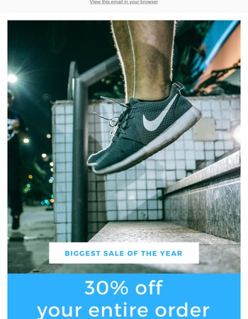 Our Biggest Discount of the Year+ We're Giving Away Four Pairs of Insoles a Month