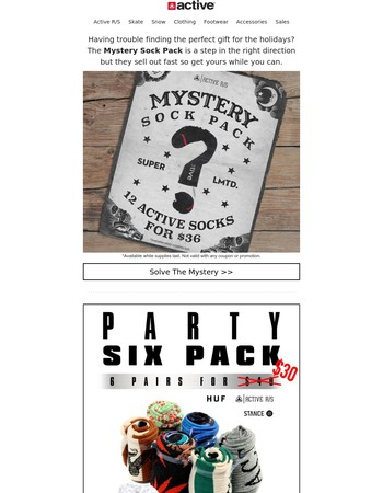 Mystery Sock Pack is Back!