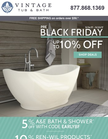 Pre-Black Friday deals on décor + more!
