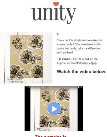 How-to: Make Stamped Images POP + A SURPRISE