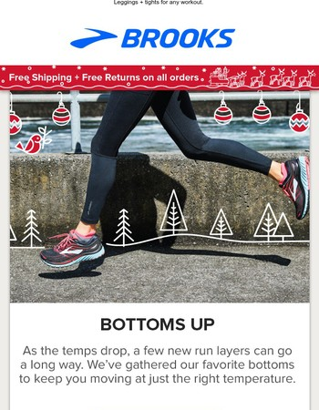 The base for your holiday run