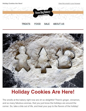 Holiday Cookies & Flavors Are In Stock