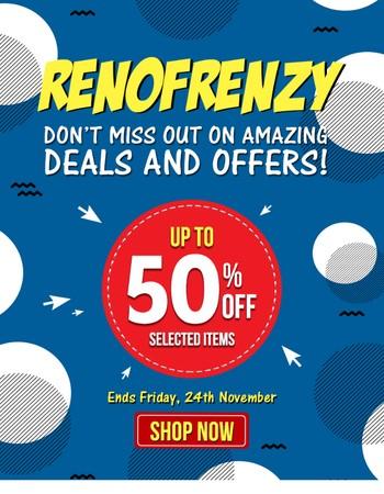 Renovator Store Newsletter