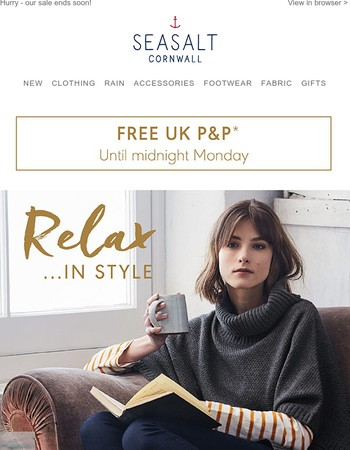 And relax… | Free P&P until midnight Monday