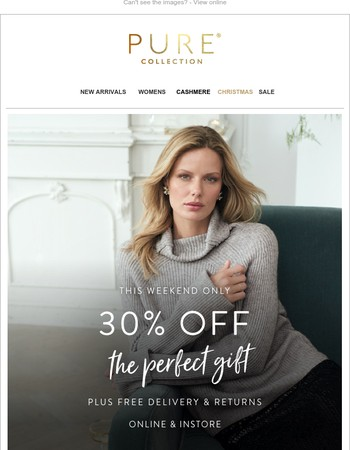 Your Friday Just Got Better… | 30% Off The Perfect Gifts