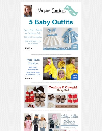 5 Baby Outfits