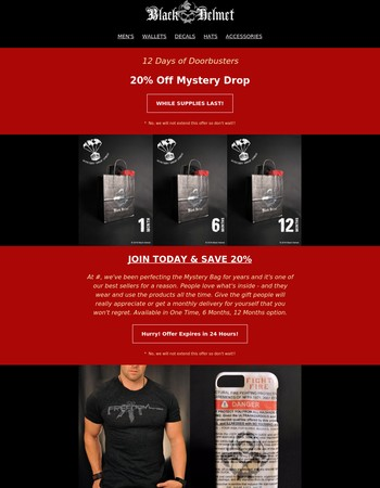 Join Mystery Drop Union Now and Get 20% Off!
