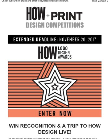 Final Call for Entries: HOW Logo Design Awards