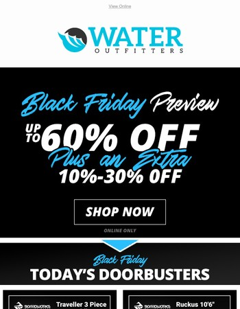 Last Day To Preview Black Friday!