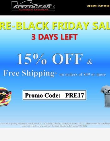 Pre-Black Friday Sales Event | Shop Now and Save