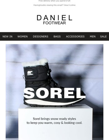 Brand Edit - Sorel, Winter Ready Styles