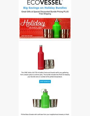 Big Savings on Holiday Bundles Plus Free Shipping
