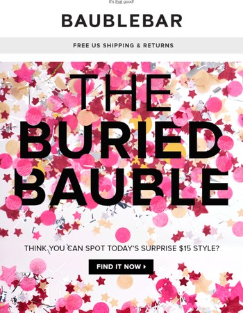The $15 Buried Bauble you won't believe