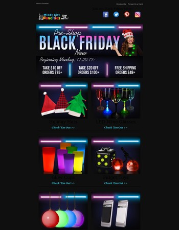 Black Friday Is Coming...Get Ready Now