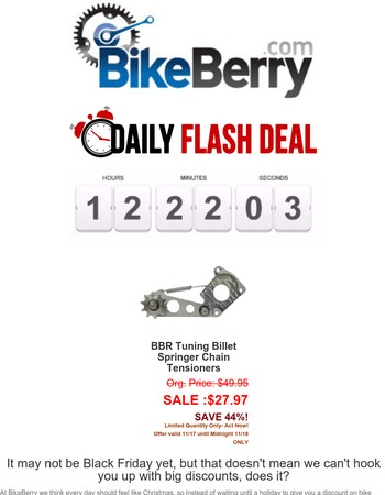 ⚡️FLASH SALE ALERT: This HP Tensioner's What Your Motor Needs