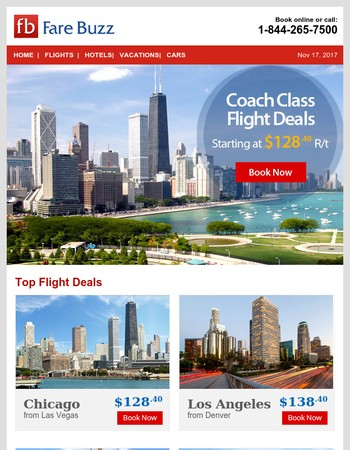Today's Top Flight Deals From $128 R/T