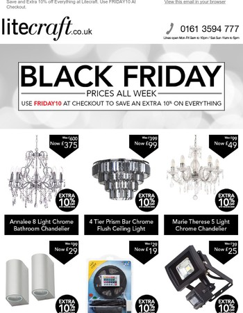 Every Day is Black Friday at Litecraft