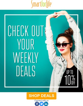 Your Weekend Deals Have Arrived