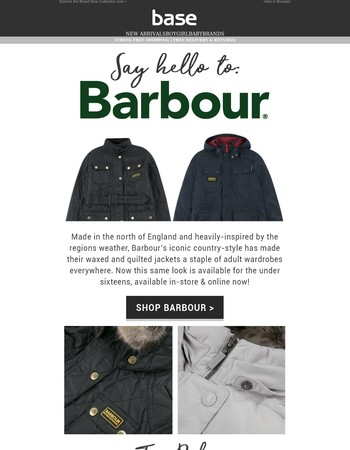 It's Finally Here   Barbour AW'17 - Explore the Collection now