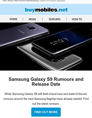 Samsung Galaxy S9 Rumours and Release Date