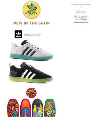 Look Back Library-Tempe Shop TODAY! Adidas Palace Pro's, Jason Jessee Guadalupe Re-Issue