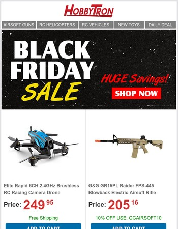 Black Friday Deals All Week Long   Savings Over 70%
