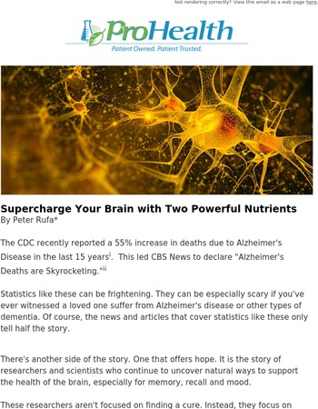 Supercharge Your Brain with Two Powerful Nutrients