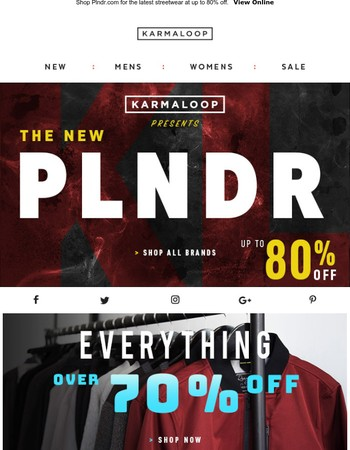 Its Always Black Friday @ PLNDR.com