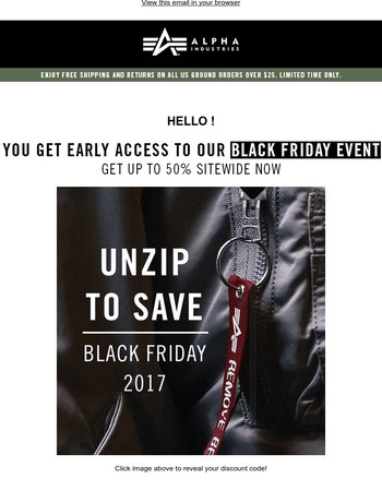 Up-to 50% off BLACK FRIDAY Starts Now!