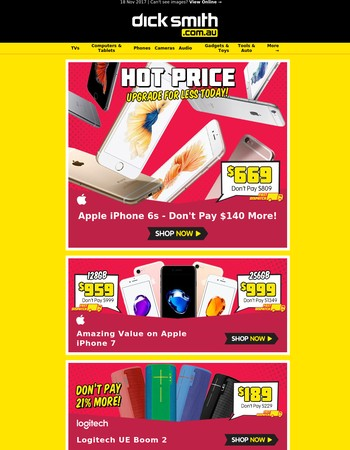 iPhone 6s Only $669 | iPhone 7 128GB Just $959