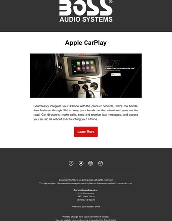 Give the gift of Apple CarPlay