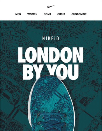 Take the City by Storm with NIKEiD