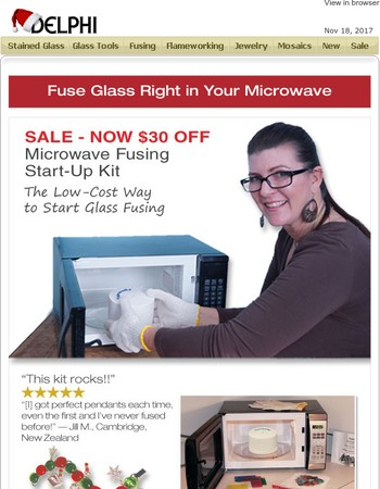 SALE Fuseworks Microwave Kit - Get Started with Savings