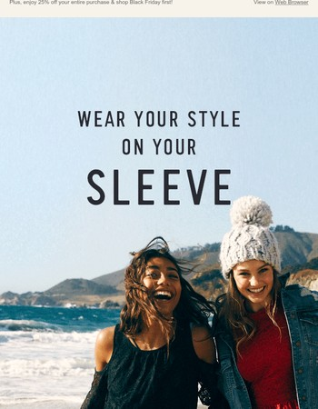 These tops make a statement (and we agree with it).