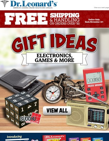 Electronics, Games & More. Free Shipping Ends Tomorrow. Shop Now.