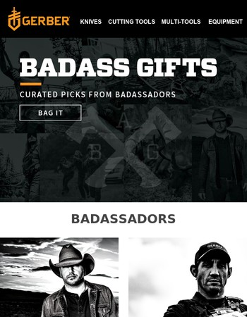 The Badass Gift Guide.
