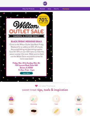 Save more Black Friday weekend in Darien, IL