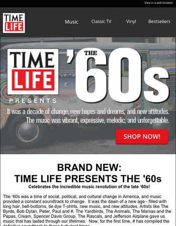 Antonia,  BRAND NEW: Time Life Presents the '60s