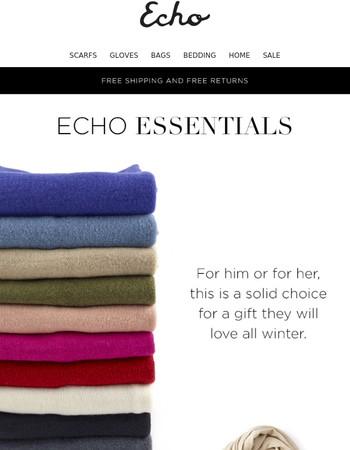 Echo Essentials: Coldweather Edition