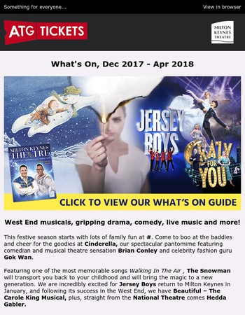 What's On Guide - out now!