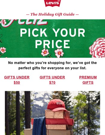 Pick your price