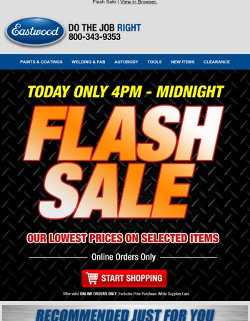 ⚡ FLASH SALE ⚡ - Our Lowest Prices -