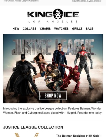 King Ice x Justice League