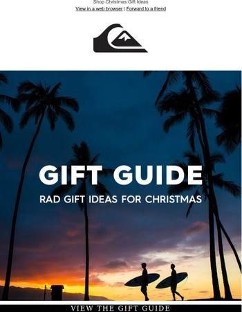 Don't know what to buy this Christmas?   We've got you sorted.
