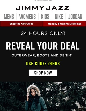 24 Hours Only: Reveal Your Deal!