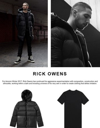 Shop the latest arrivals from Rick Owens, adidas and Know Wave...