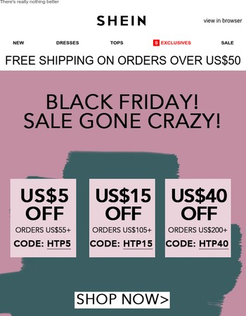 Click to get your US$5 off coupon
