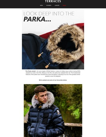 Look deep into the parka...